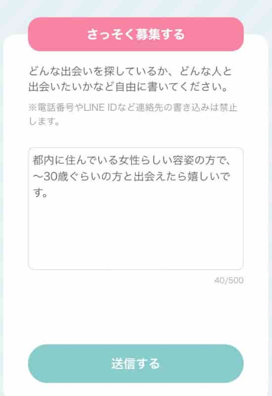 ワクワクメール_募集